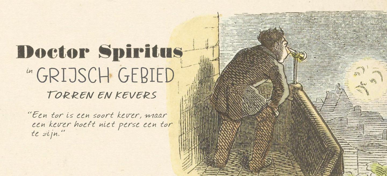 Het verschil tussen een kever en een tor, en een beestje: Doctor Spiritus neemt je mee naar 'Grijsch gebied'